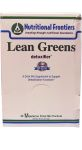 ... pro lean greens the new frontier in cleansing and detoxification pro