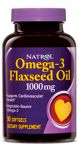 Omega-3 Flax Seed Oil - 1000 mg by Natrol