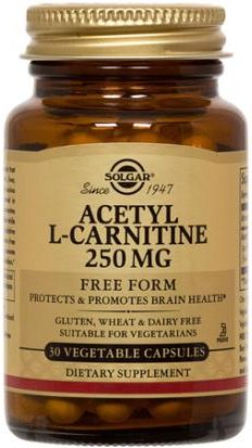 Acetyl-L-Carnitine 250 mg by Solgar