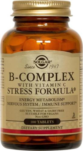B-Complex with Vitamin C Stress Formula by Solgar