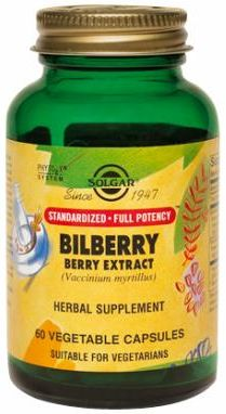 Bilberry Berry Extract - SFP by Solgar