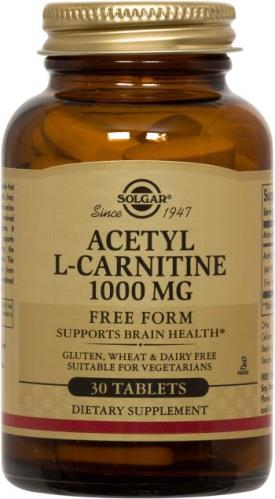 Acetyl L-Carnitine 1000 mg by Solgar