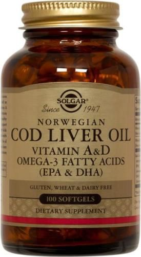 Norwegian Cod Liver Oil Softgels