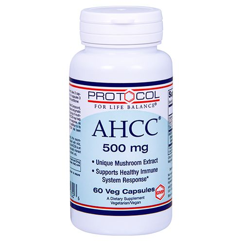 AHCC® 500 mg by Protocol For Life Balance