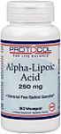 Alpha-Lipoic Acid 250 mg by Protocol For Life Balance