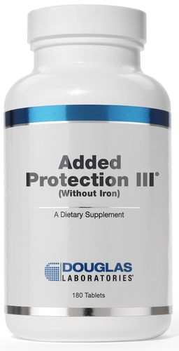 Added Protection III Without Iron (APN) by Douglas Laboratories