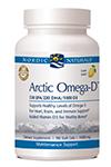 Arctic Omega-D Lemon 1000 mg by Nordic Naturals