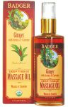Badger Deep Tissue Massage Oil - Ginger W/ Arnica & Cayenne
