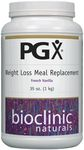 PGX Weight Loss Meal Replacement French Vanilla by Bioclinic Naturals