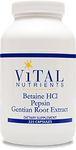 Betaine HCl with Pepsin and Gentian Root Extract by Vital Nutrients
