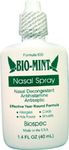 Bio-Mint Nasal Spray by Biospec Nutritionals