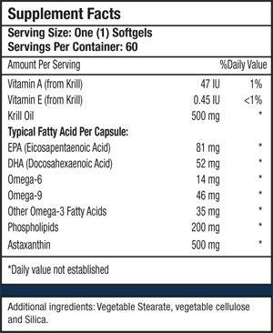 Bio Krill 500 mg.