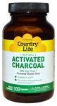 Activated Charcoal 100 Capsules by Country Life