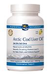 Arctic Cod Liver Oil Soft Gels - Lemon by Nordic Naturals