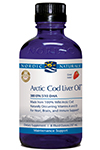 Arctic Cod Liver Oil - Strawberry Flavored by Nordic Naturals
