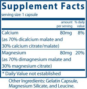 Calcium/Magnesium (citrate/malate)