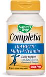 Completia Diabetic Multivitamin 90 Tablets by Nature's Way