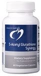 S-Acetyl Glutathione Synergy by Designs for Health