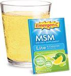 Emergen-C® MSM Lite Citrus