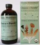Cleanse + Fortify Botanical Tonic by Maine Medicinals