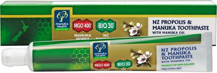 Propolis MGO 400+ & Manuka Honey Toothpaste with Manuka Oil
