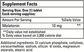 Melatonin 10 mg