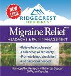 Image of Migraine Relief 60 Vegan Capsules by Ridgecrest Herbals