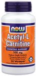 Acetyl-L Carnitine 500 mg by Now Foods