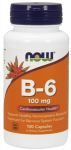B-6 100 mg 100 Capsules by Now Foods