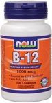 B-12 1000 mcg by Now Foods