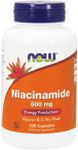 Niacinamide 500 mg 100 Capsules by Now Foods