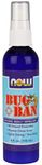 Bug Ban Spray 4 oz, fluid by Now Foods