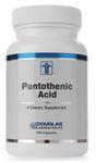 Pantothenic Acid 500 mg (7919-) by Douglas Laboratories