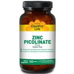Zinc Picolinate 25 mg by Country Life
